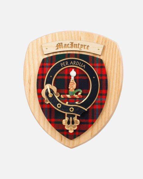 Clan Crest Wall Plaque Clans Mc-M