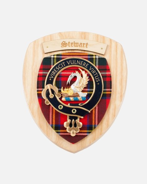 Clan Crest Wall Plaque Clans N-Y